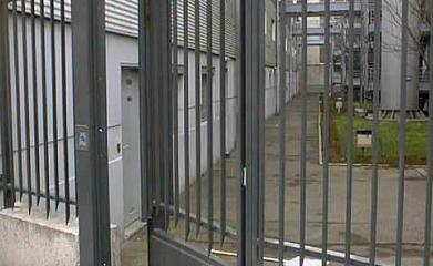 Portillon site industriel